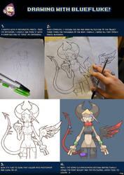 Drawing with bluefluke!