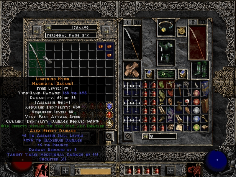 Diablo  Crafted Items