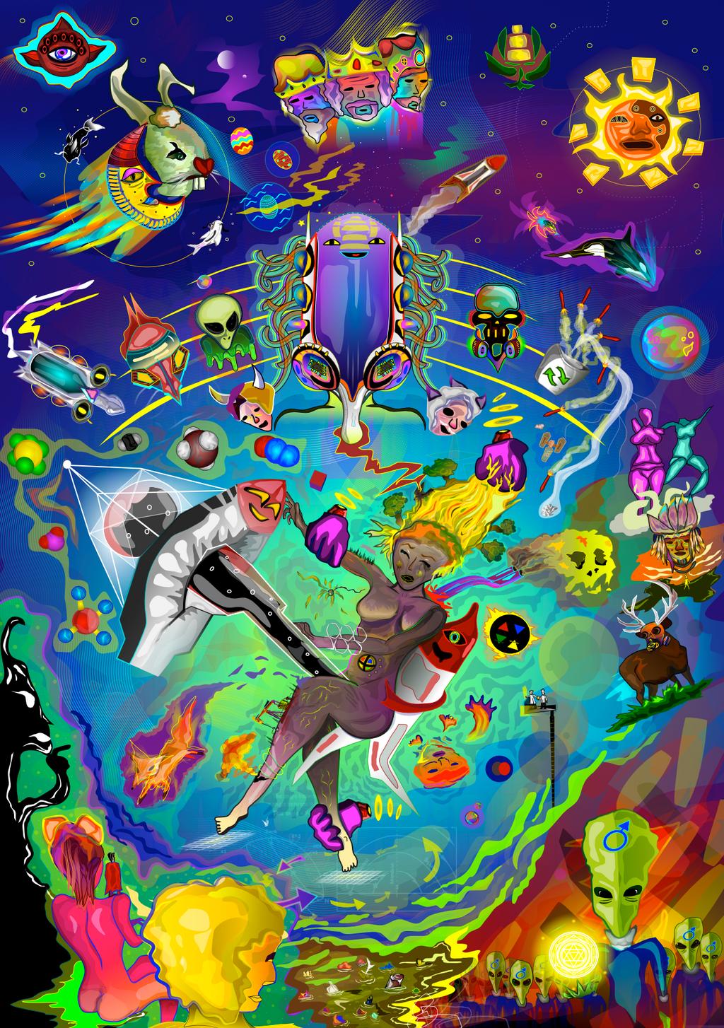 Rape of Mother Gaia by ixnivek