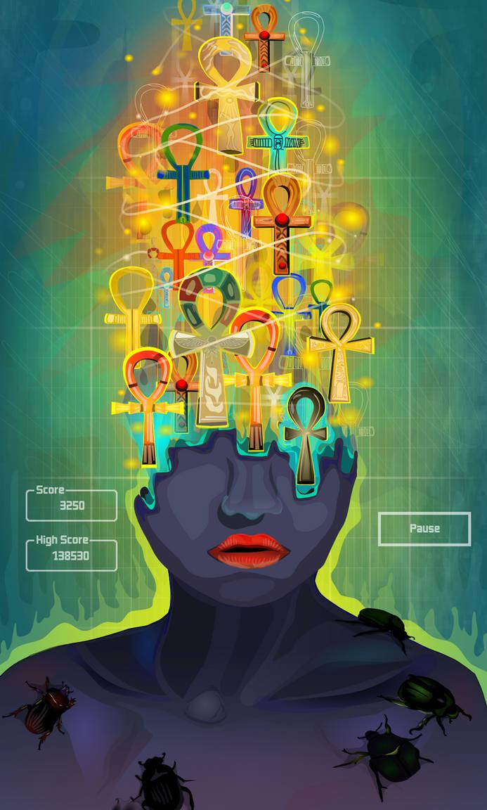 Ankh Tetris by ixnivek