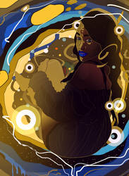 Gold Soul by ixnivek