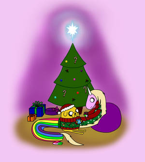Jake and Lady - Christmas time