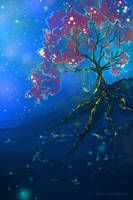 Memories Make Us Glow by NoirArt