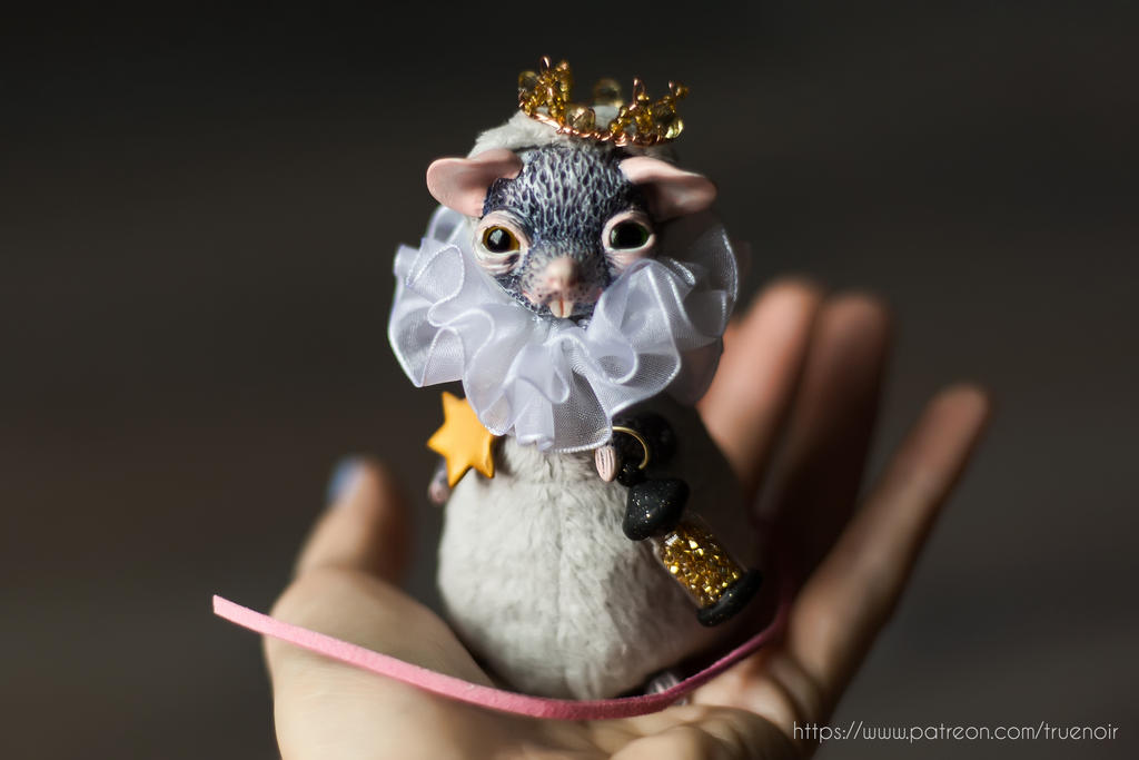 The coronation of the Mouse King 02, artdoll by NoirArt