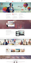 Kreator. Fresh and Creative PSD Template