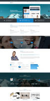 Mixed Professional PSD Template for Any Business