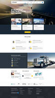 01 HomeTrucking PSD Template for Logistics and Tra