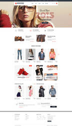 Shopsters - Multiconcept ecommerce PSD Template