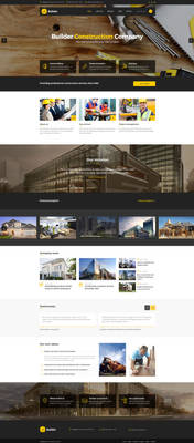Builder - SImple Construction HTML Template