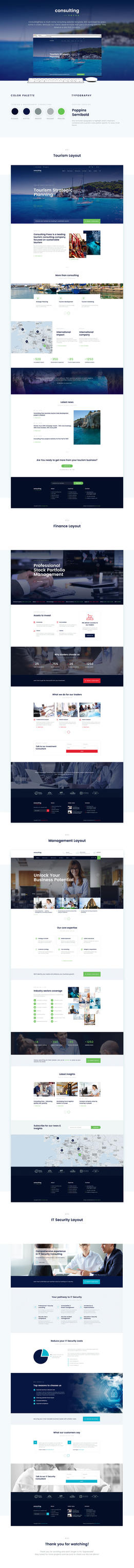 ConsultingPress Multiniche Consulting Website by pixel-industry
