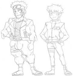 Alternate: Naruto Sketch by ryugaxryoga