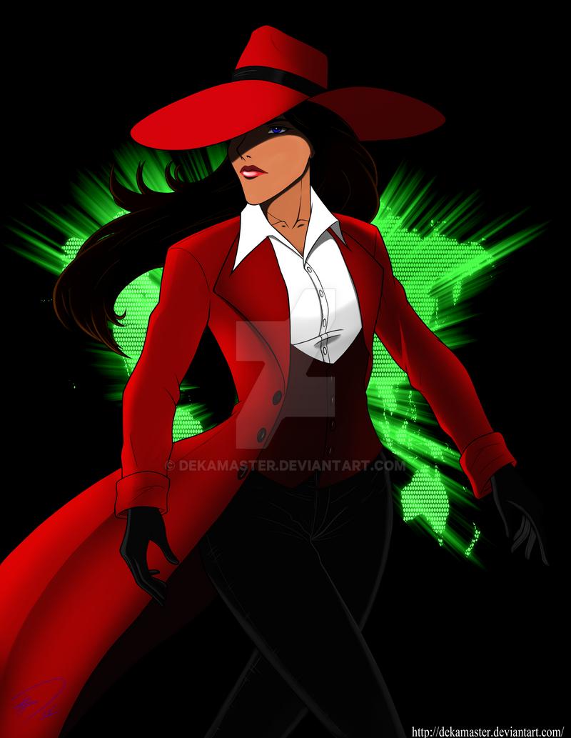 Carmen Sandiego remix by Dekamaster on DeviantArt