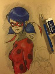 Sketchbook: Miraculous Ladybug by Dekamaster