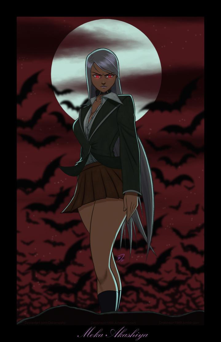 Rosario + Vampire - Moka Akashiya by Dekamaster