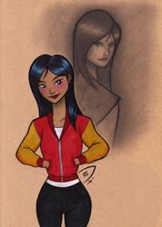 Mulan Sketchbook by Dekamaster