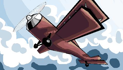 Plane MS Paint