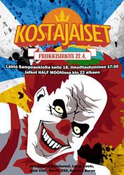 Kostajaiset, Freak Circus -event poster