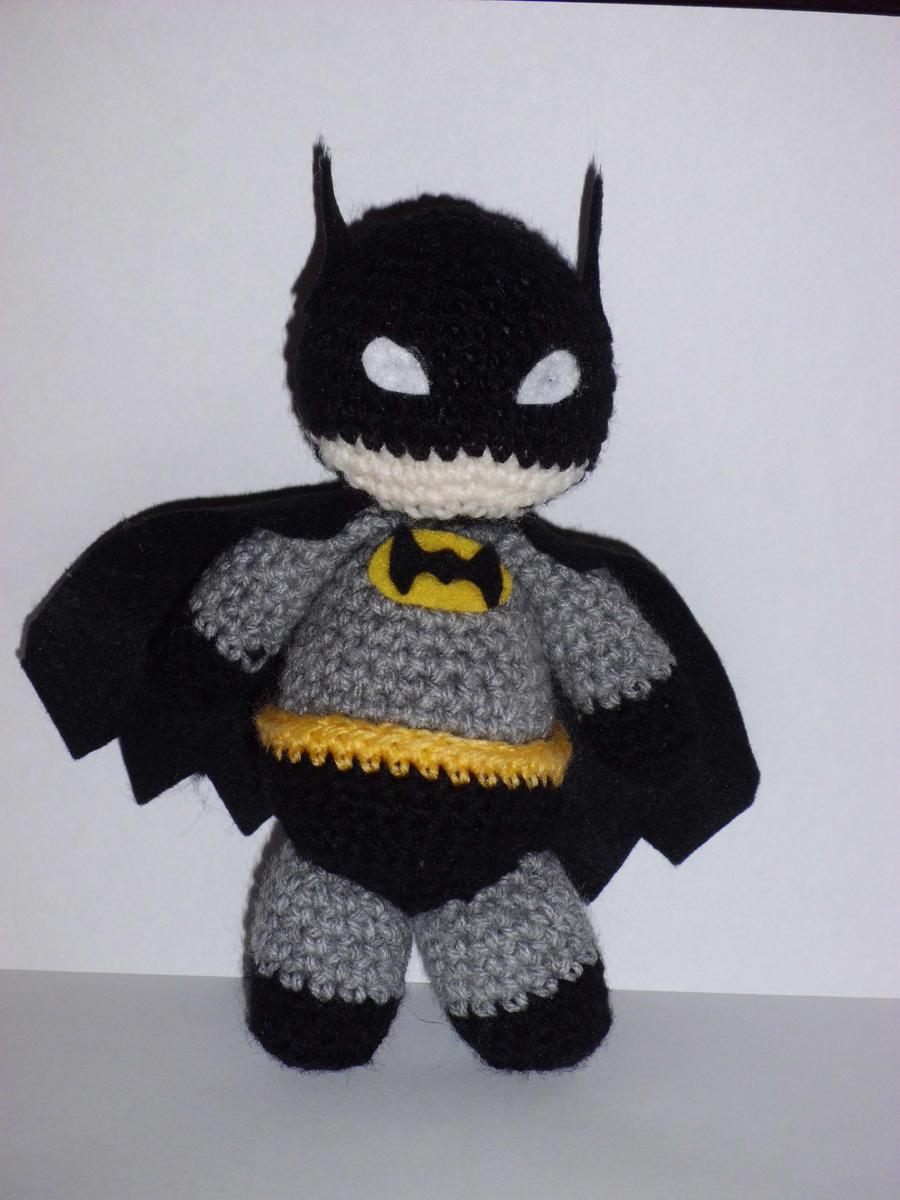 Amigurumi Batman by CraftyGeeks on DeviantArt