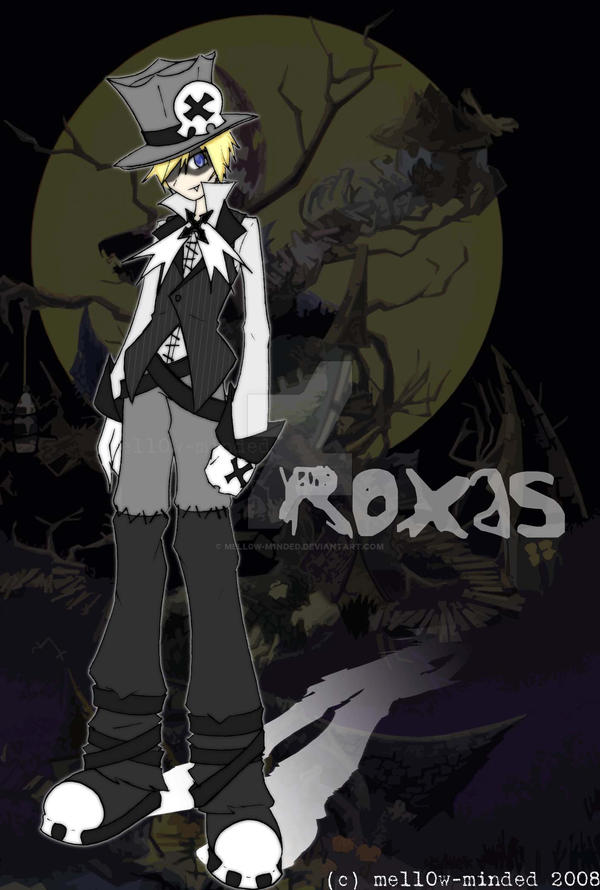 halloween town roxas 20 by mell0w m1nded - Roxas Halloween Town