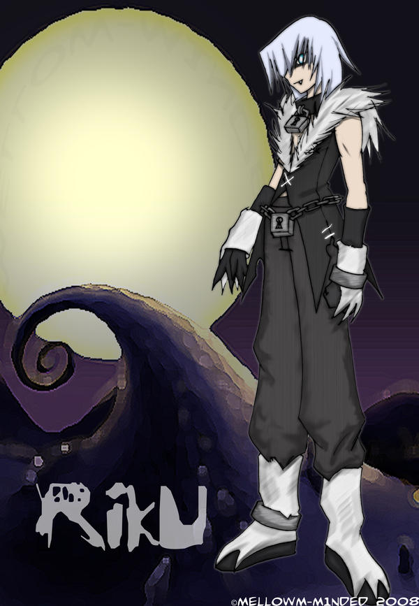 halloween town riku by mell0w m1nded - Roxas Halloween Town