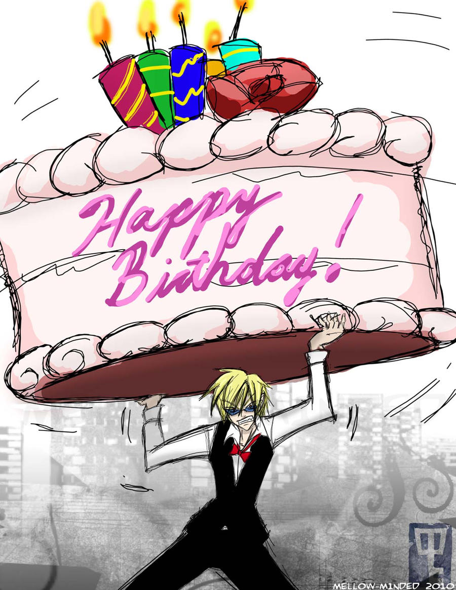 Shizuos Birthday Greeting By Mell0w M1nded On Deviantart