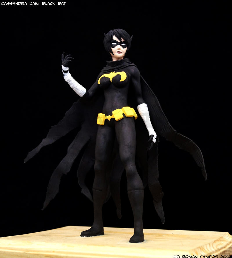 Cassandra Cain: Black Bat Maquette by mell0w-m1nded