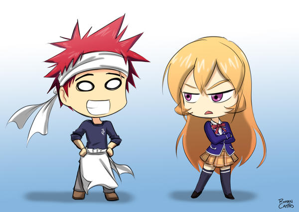 Chibi Soma And Erina By Mell0w M1nded On Deviantart
