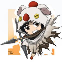 FFVIIR Yuffie Chibi