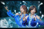 FFX-2 Lenne x Yuna  both cosplay by Loki