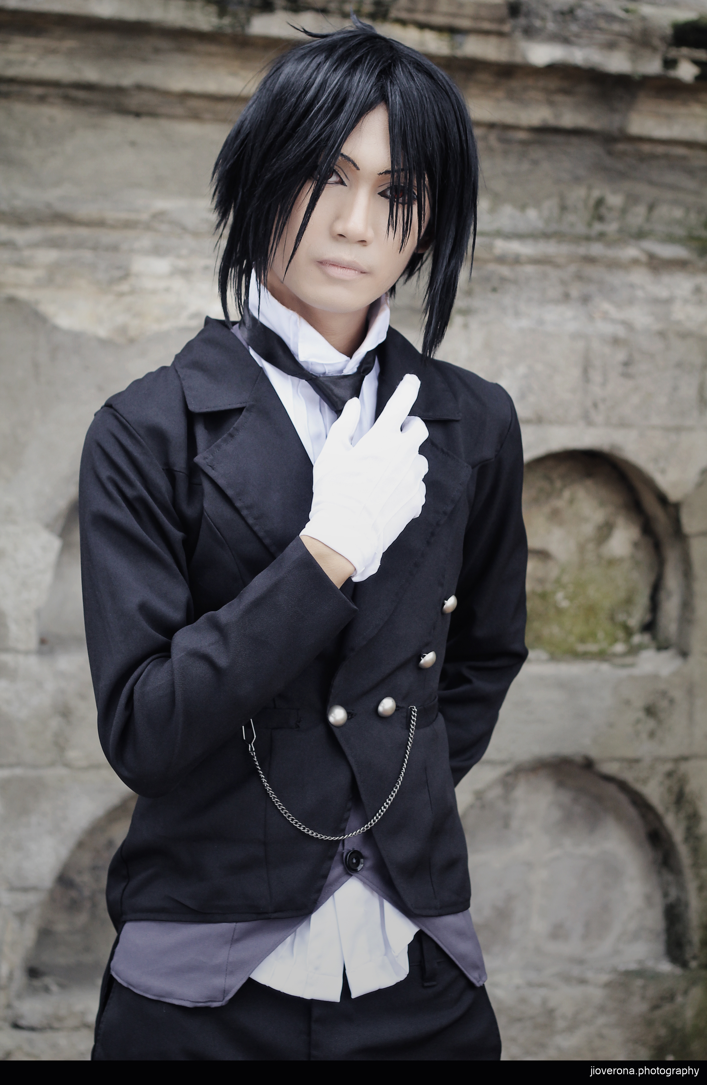 Kuroshitsuji Sebastian Michaelis cosplay by Kyo by jiocosplay on ...