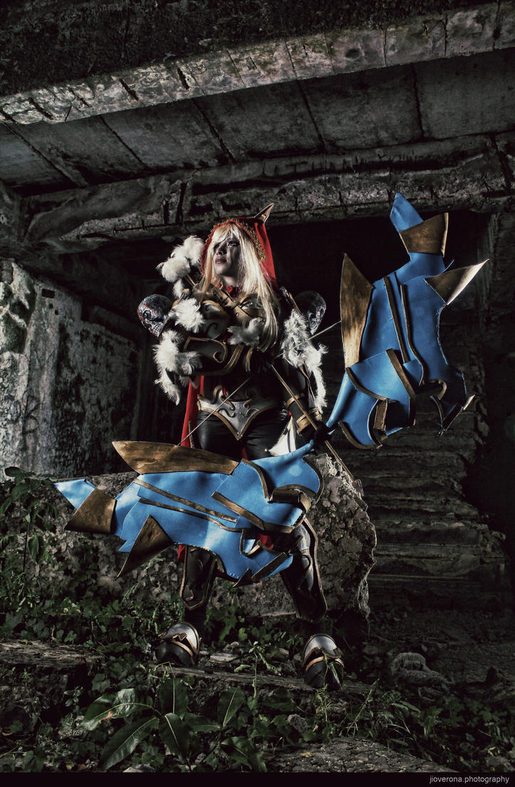 Sylvanas Windrunner [DOTA] by jiocosplay