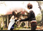 Final Fantasy 8 Squall Leonhart n Rinoa Heartilly
