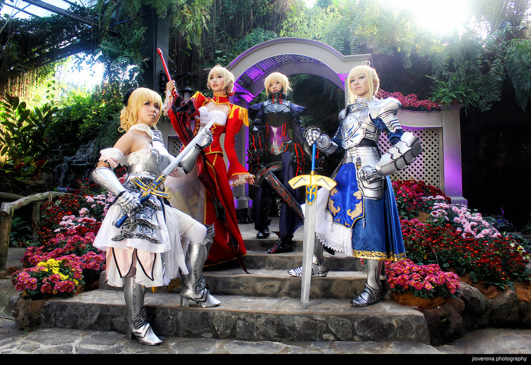 SABERs United by jiocosplay
