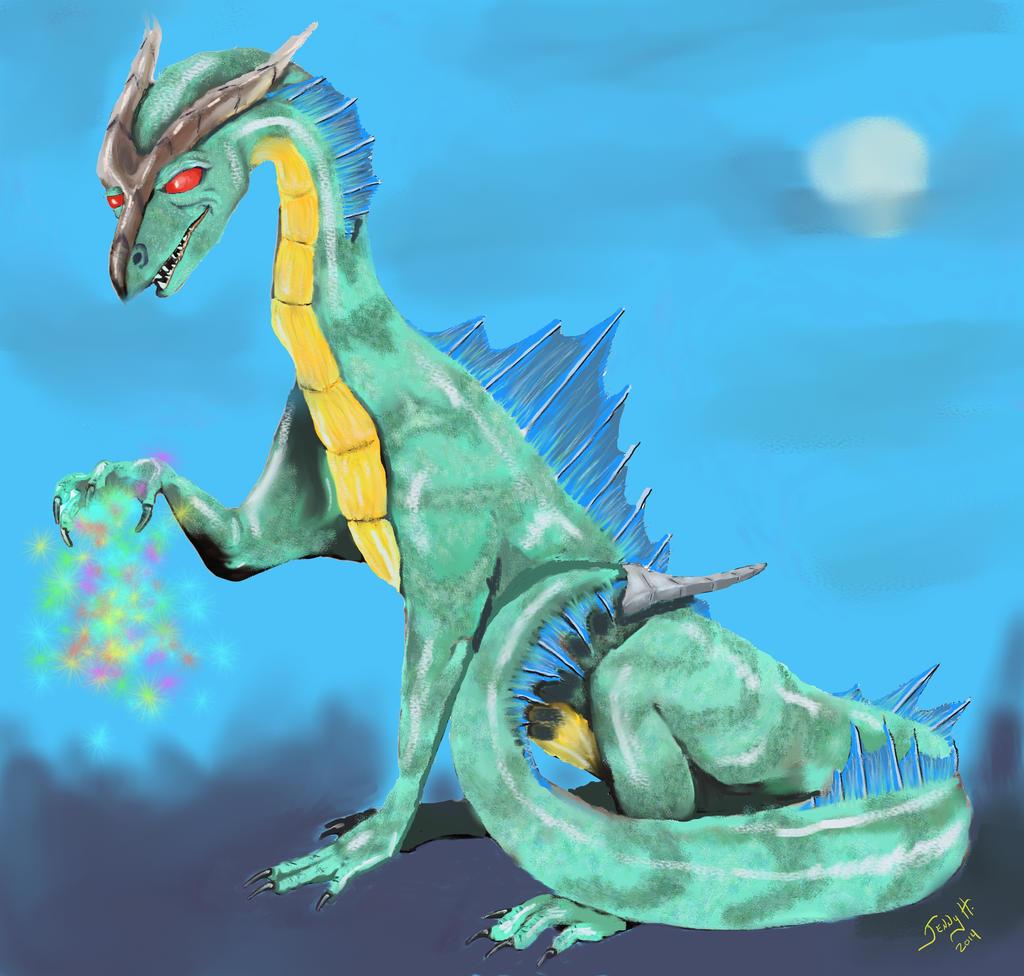 Saki's Dragon by Jenny42