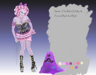 Black Dolly-A Goth Version with Bob ref adopted by Jenny42
