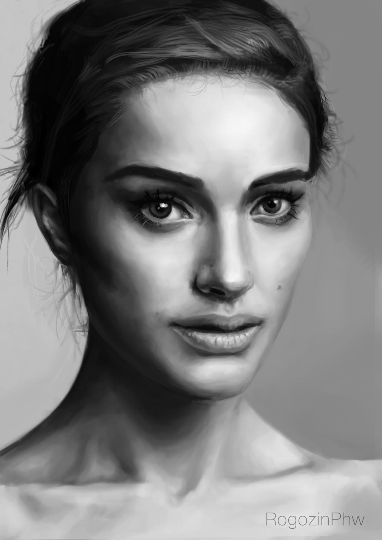 Practice with Natalie Portman by RogozinPhw
