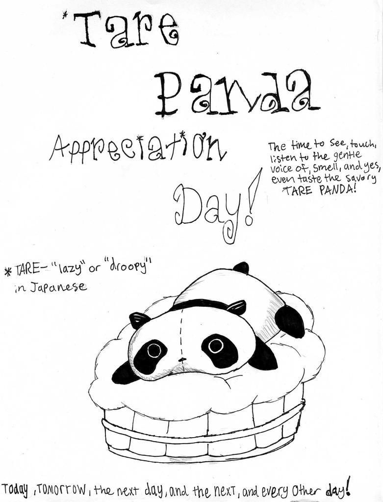 happy Tare Panda Day!! by raisinrob on DeviantArt