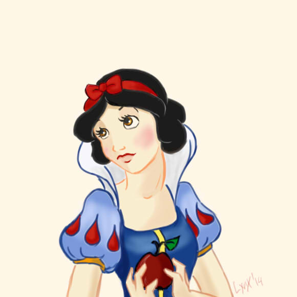 SnowWhite by littleredlynx