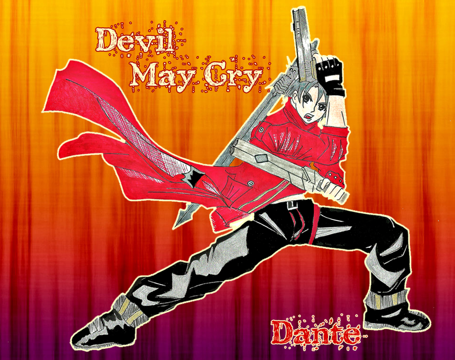 DMC - Dante a mi estilo xD by Yutarohyutah