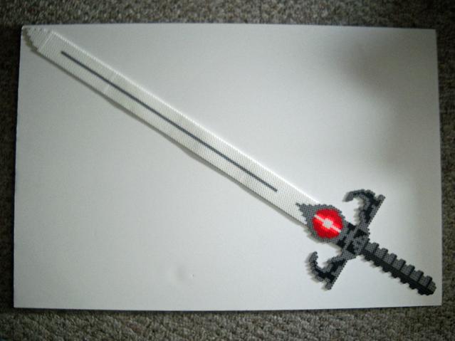 Perler Sword Of Omens By IHeartKitties On DeviantArt