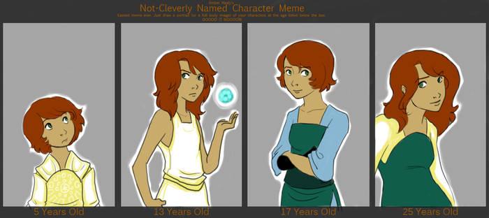 Kana - Aging character meme