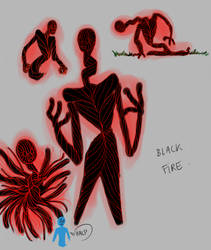 Black Fire scribbles by tea-citron-caramel
