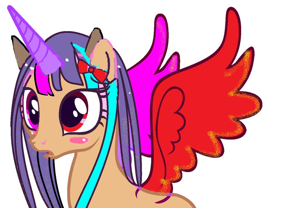 My Little Pony OC - Kuroyukihime by kuroyukihime666