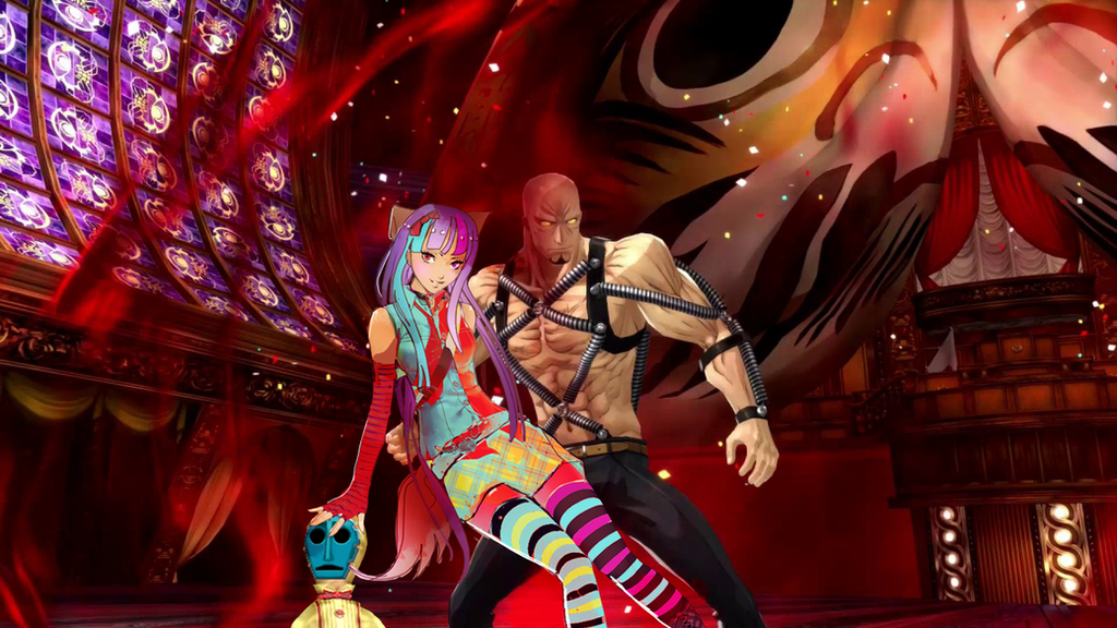 shido and kuroyukihime oc vs joker fight by kuroyukihime666