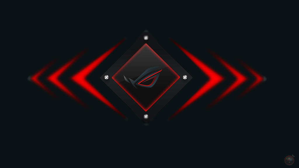 Asus Red By Ahlot On DeviantArt