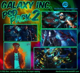 Galaxy Inc. - PSD Pack 2