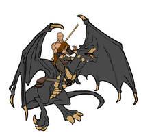 Dragon Rider by Nugarius