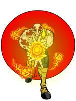 Fire Warrior by Nugarius