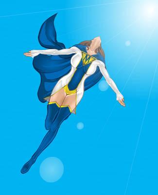 Super Mom Takes Flight by Nugarius