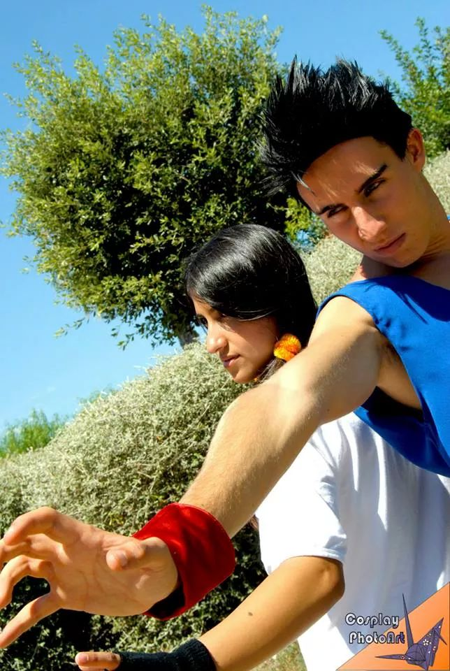 Gohan and Videl (Dragon Ball Z) by DarthRey